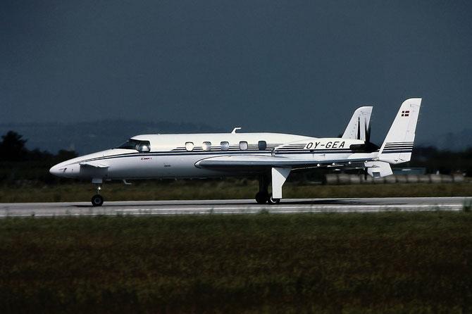 OY-GEA Beech 2000 NC-8 Christian Kjær / Aviation Assistance A/S @ Aeroporto di Verona © Piti Spotter Club Verona