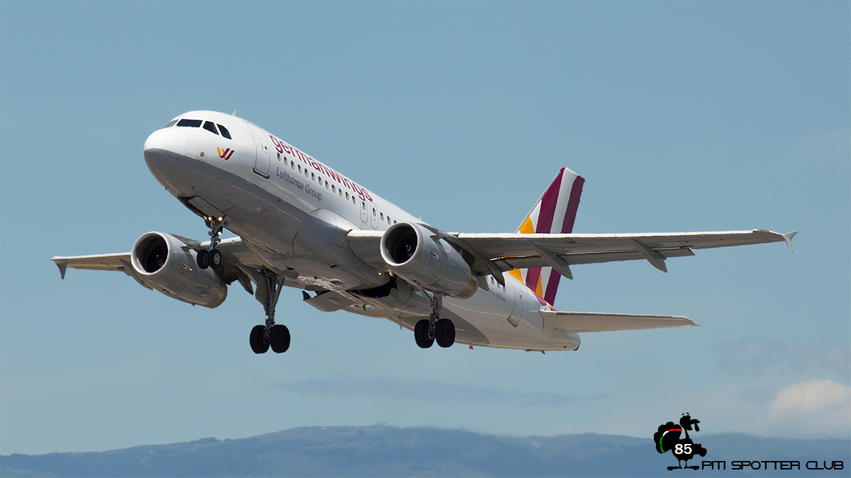 D-AGWG A319-132 3193 Germanwings
