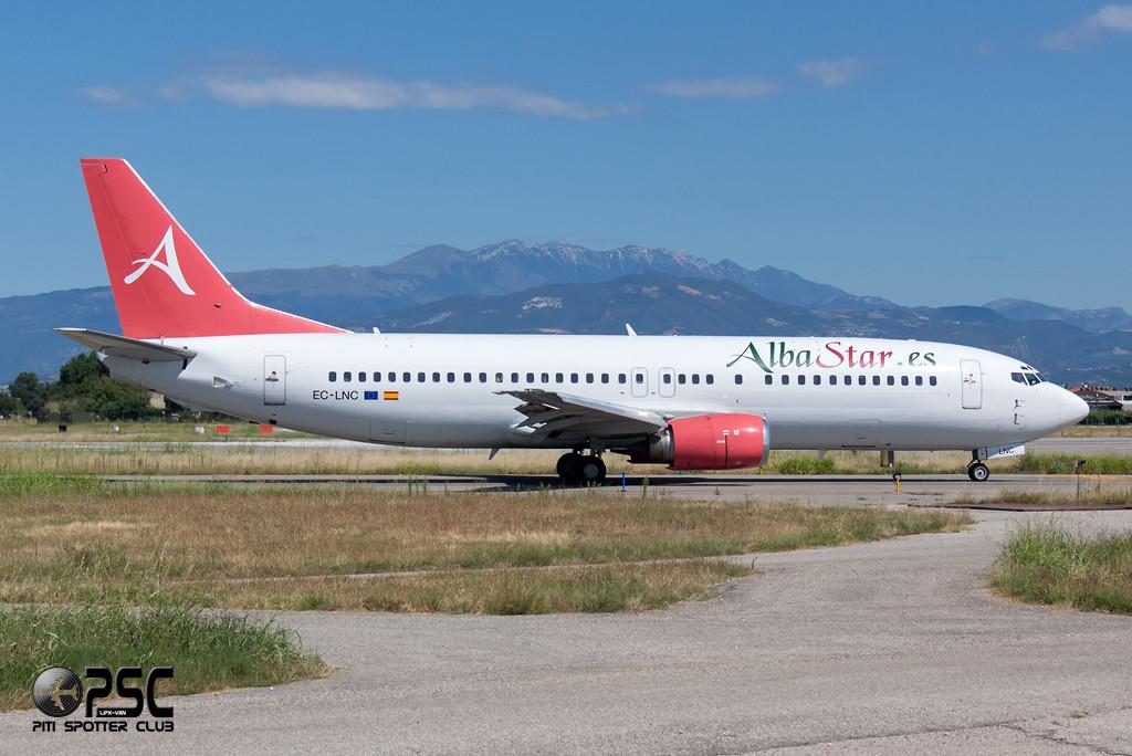 Boeing 737 - MSN 24130 - EC-LNC  Airline AlbaStar