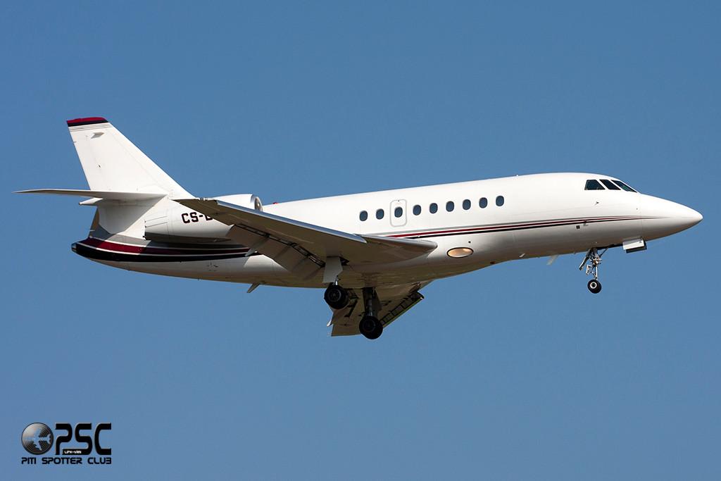 NetJets Europe - Dassault Falcon 2000EX  CS-DLC (cn 98)