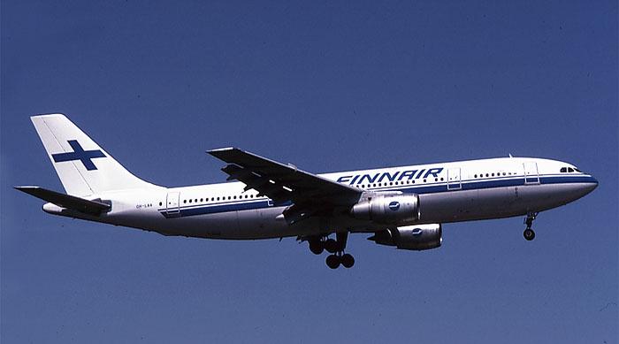 OH-LAA  A300B4-203  299  Finnair   @ Aeroporto di Verona © Piti Spotter Club Verona