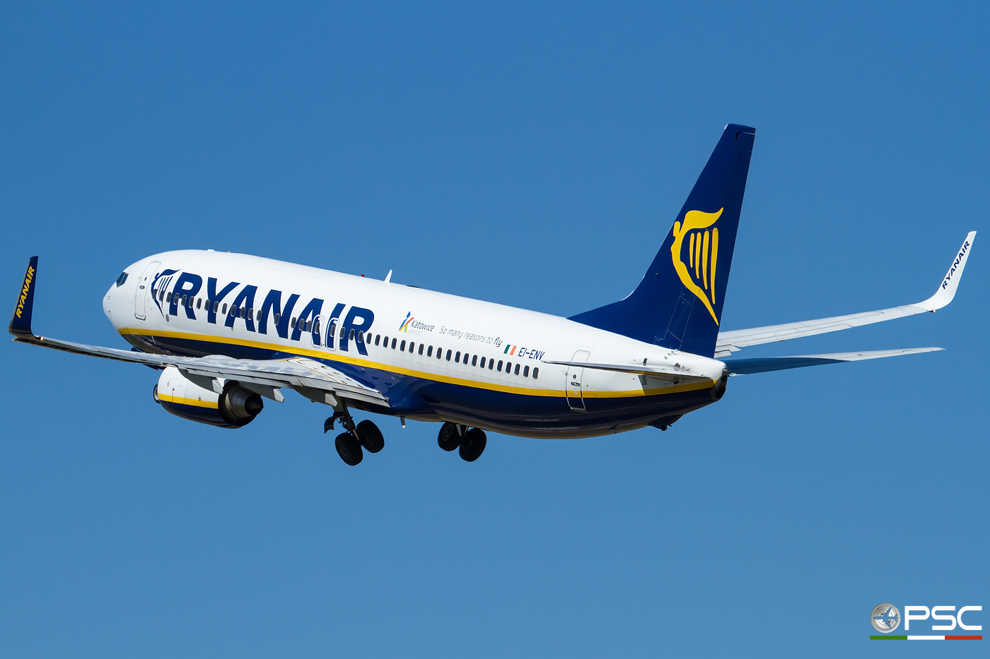EI-ENV B737-8AS 35039/3546 Ryanair