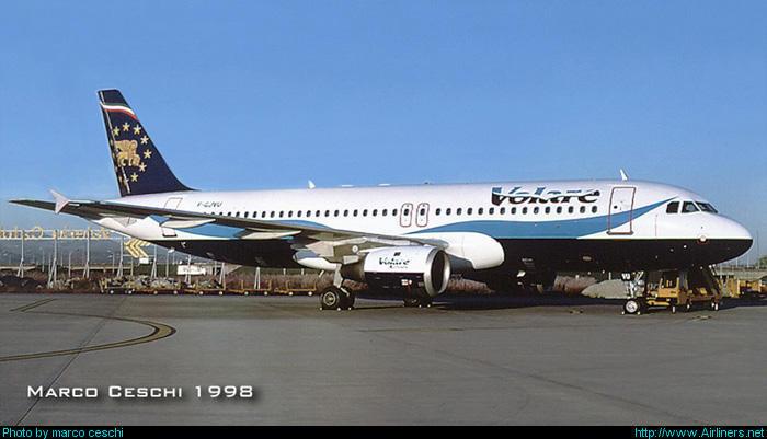 F-GJVU  A320-211  436  Volare Airlines  @ Aeroporto di Verona © Piti Spotter Club Verona
