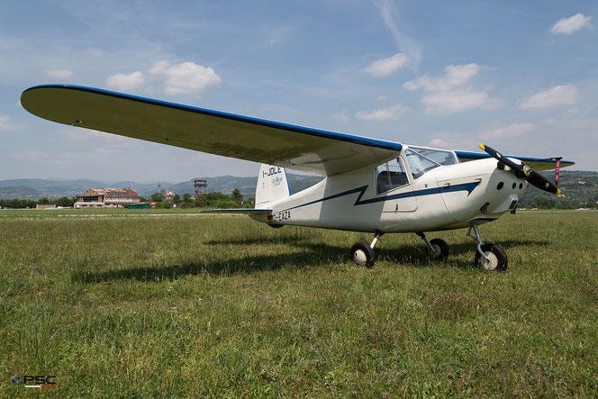 """D-EAZA Macchi MB-308""""Macchino"""" @ Aeroporto Verona Boscomantico © Piti Spotter Club Verona"""