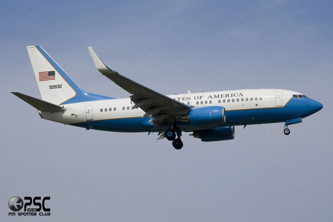 Boeing C-40B (737-7DM(BBJ)) 50932 @ Aeroporto di Verona © Piti Spotter Club Verona