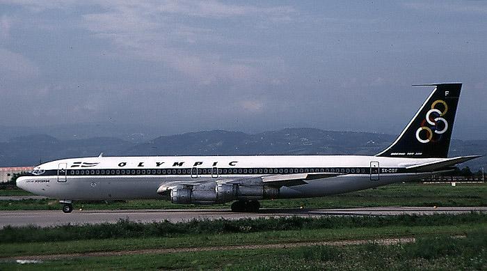 SX-DBF  B707-384C  20036/778  Olympic Airways @ Aeroporto di Verona © Piti Spotter Club Verona