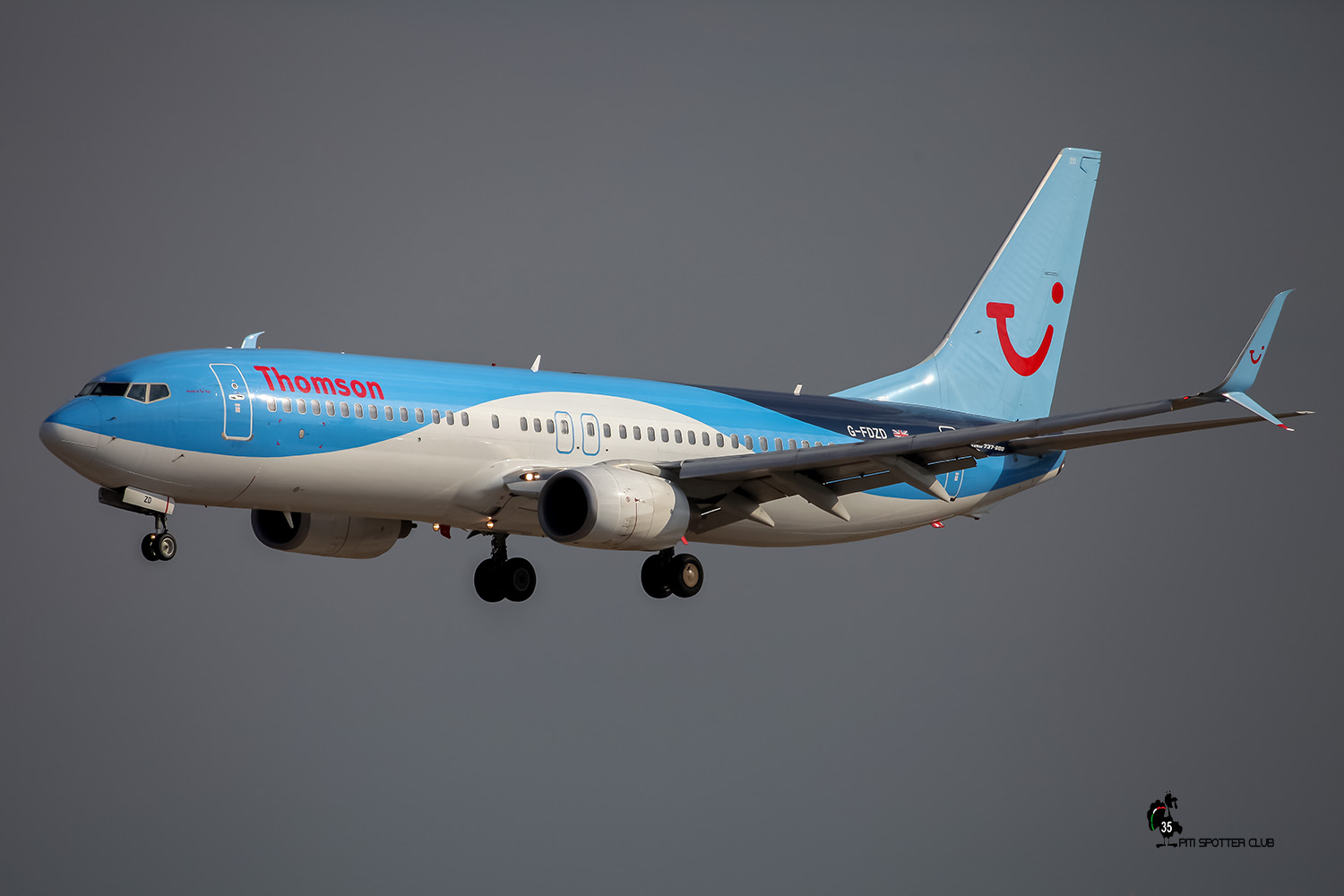 G-FDZD B737-8K5 35132/2276 Thomson Airways