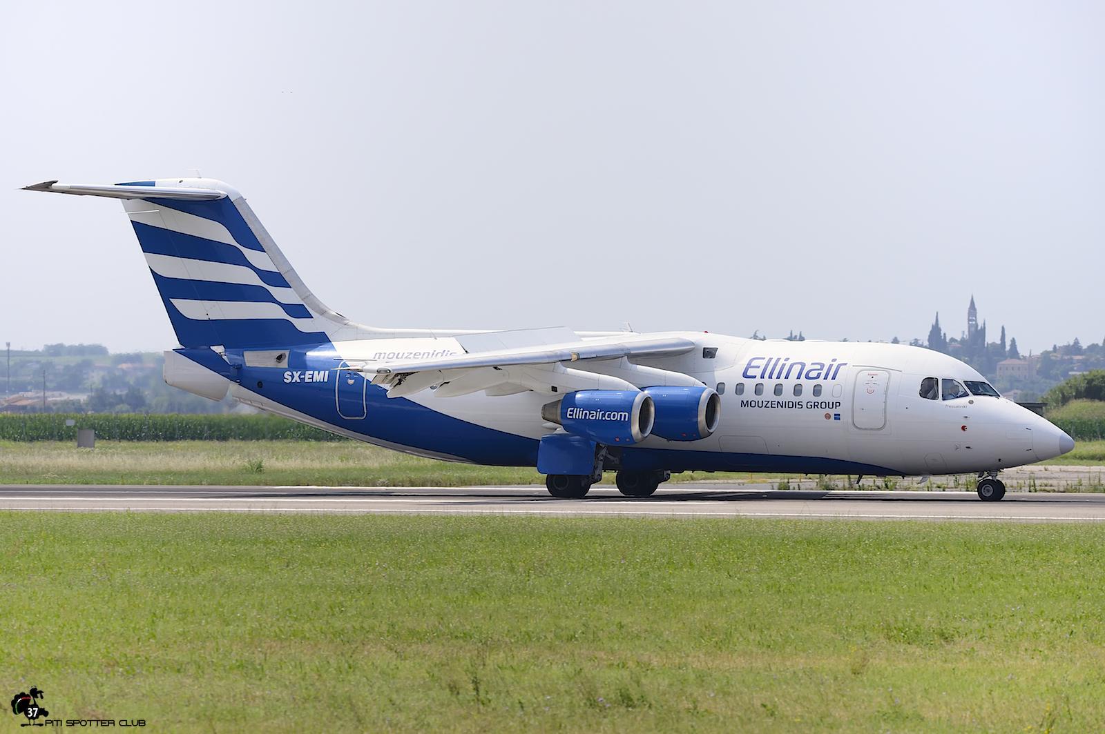 SX-EMI BAe146-RJ85 E2305 Ellinair