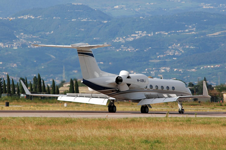 M-ABRJ G450 4094 Execujet Middle East @ Aeroporto di Verona - 01/08/2016 © Piti Spotter Club Verona