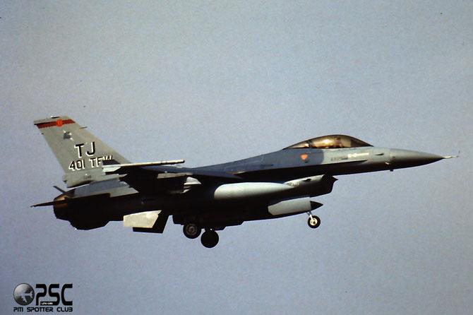 87-0245  SA  F-16C-30-CF  5C-506  182nd FS @ Aeroporto di Verona   © Piti Spotter Club Verona