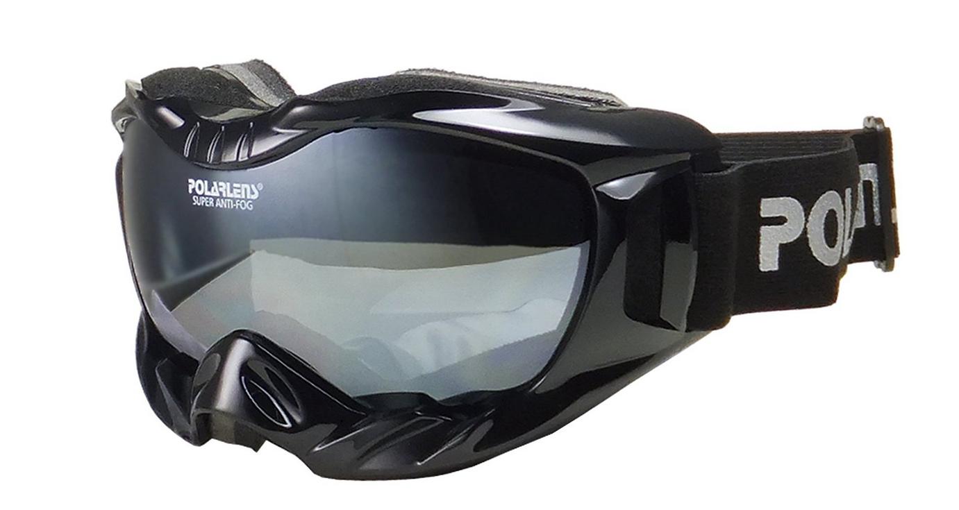 POLARLENS SERIES PG24-02 Skibrille / Snowboardbrille / Sonnenbrille mit RAINBOW-Verspiegelung + Microfaser-Tasche mit Putztuch-Funktion + Pflege-Set vjuNnl