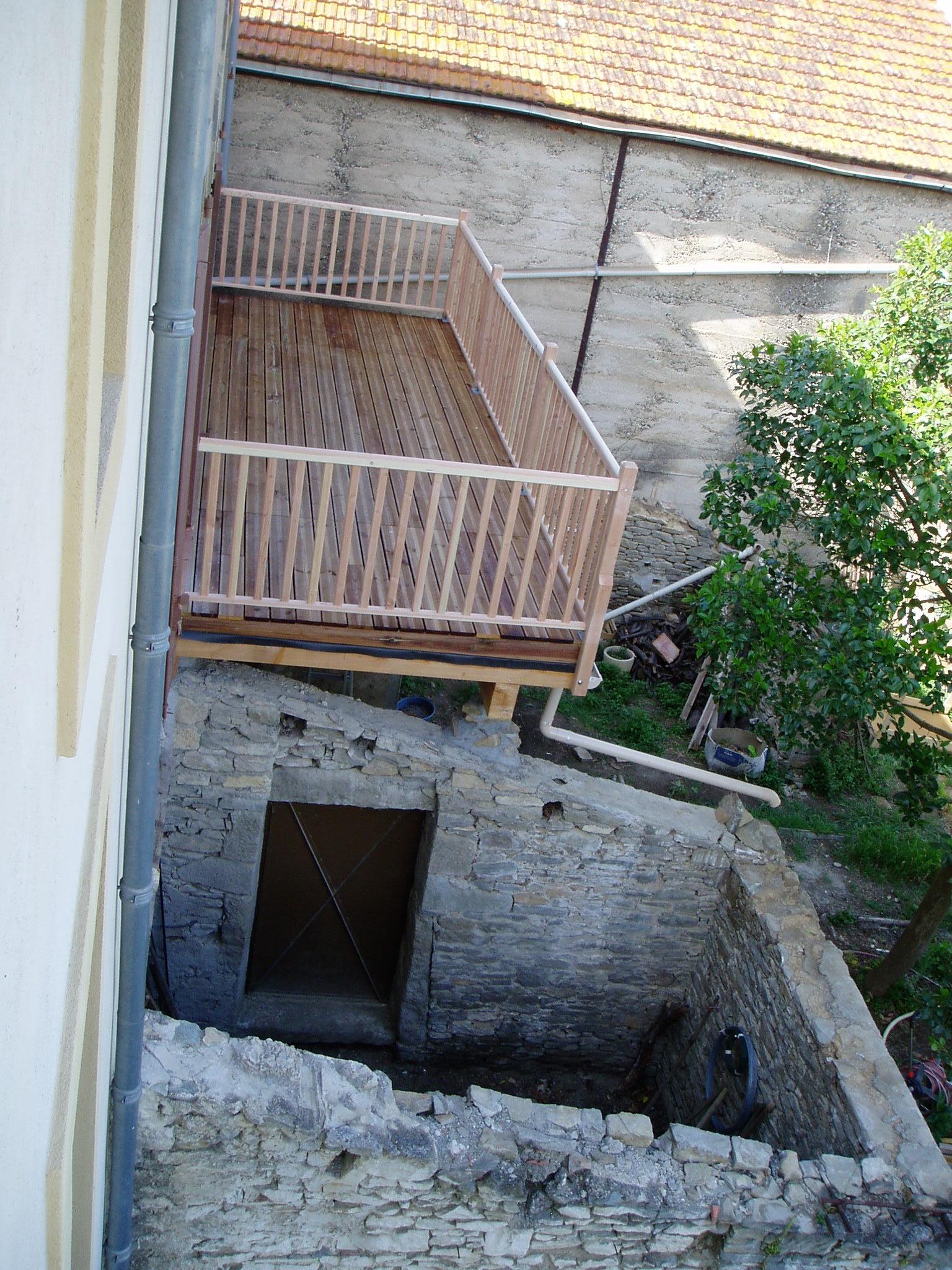 terrasse étanche au 1 er étage
