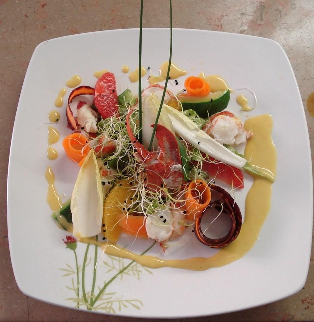 La salade de Homard (sur commande)