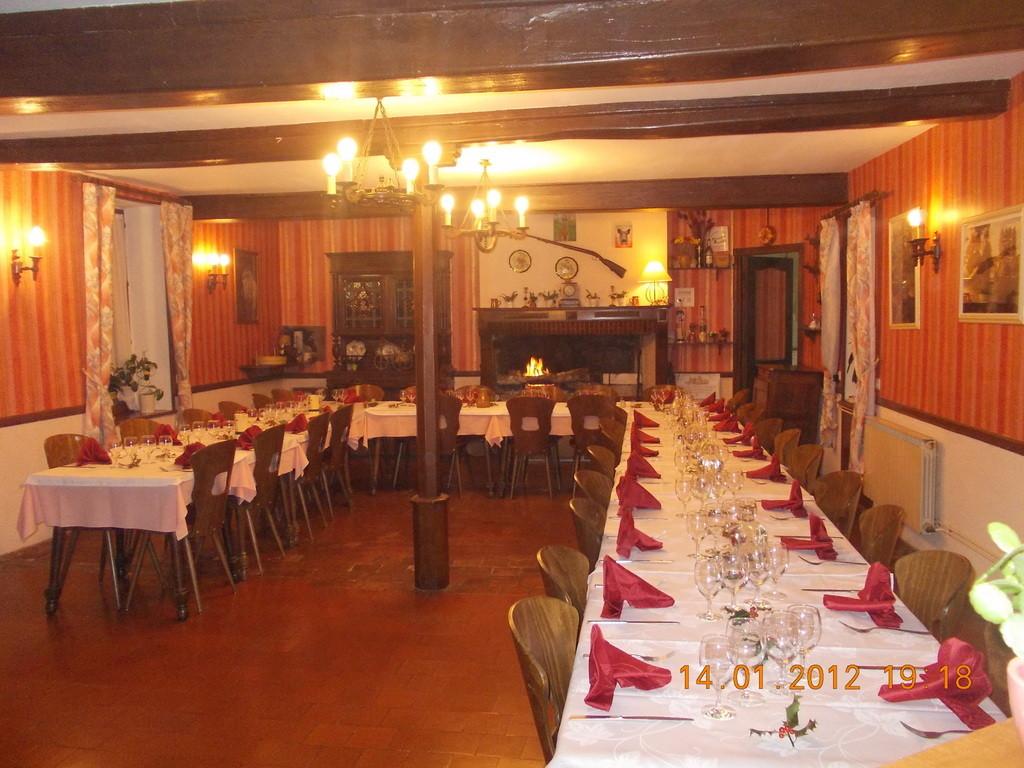 La salle pour un banquet