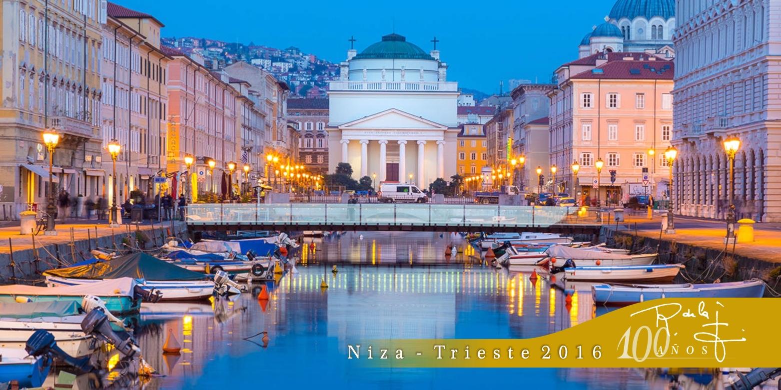 Trieste, 100Aniversario SR de la F., Canale Grande, Sant'Antonio