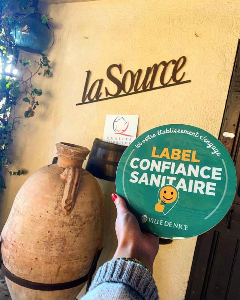 Label sanitaire par la ville de Nice