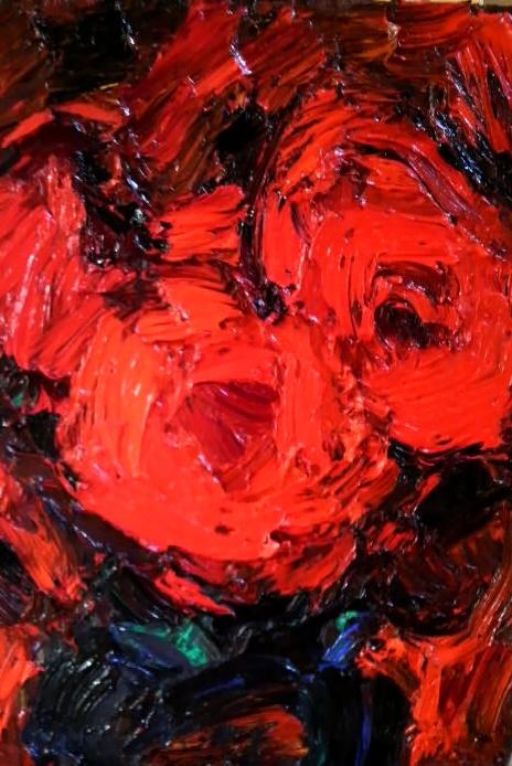 F4 赤いバラ