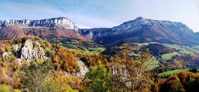 Le Granier et le Pinet en automne