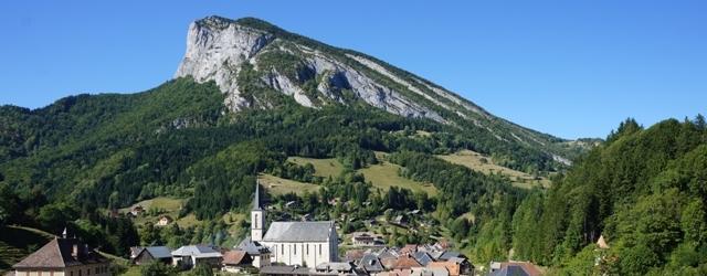 Saint Pierre d'Entremont l'été