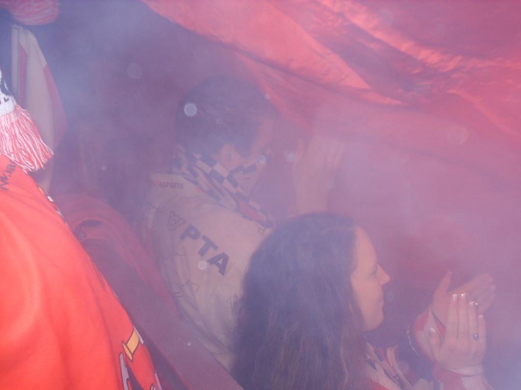 KAC Fans beim Torjubel