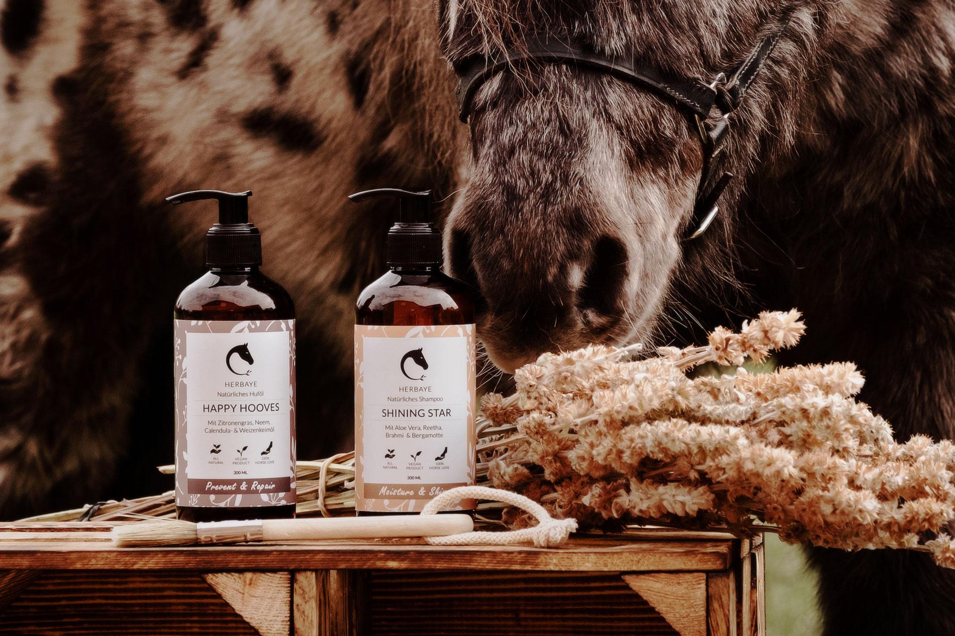 Herbaye - natürliche Pferdepflege