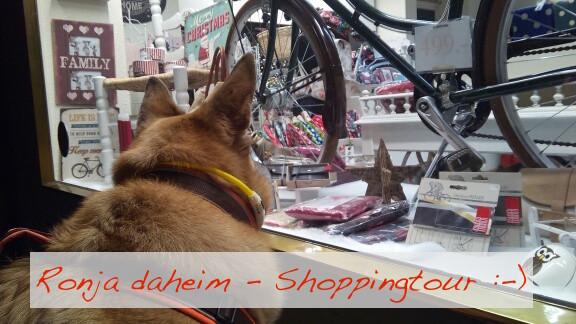 Foto: Ronja on Shoppingtour -Evelyn Bichmann