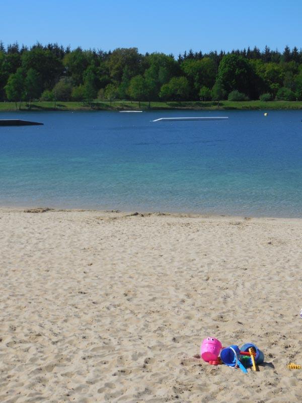 kostenloser Badespaß am Dankern-See
