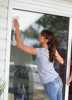 Putztuch für Fenster