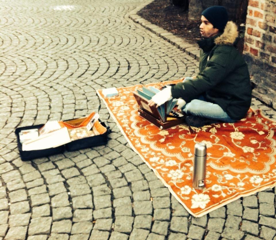 Transzendentale Straßenmusik - Sendlinger Tor, München 2013