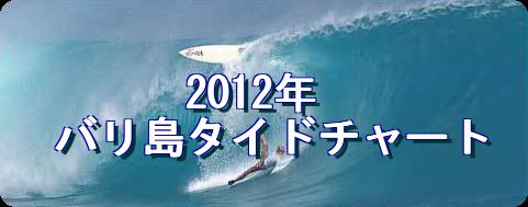 2012年度バリ島タイドチャート表