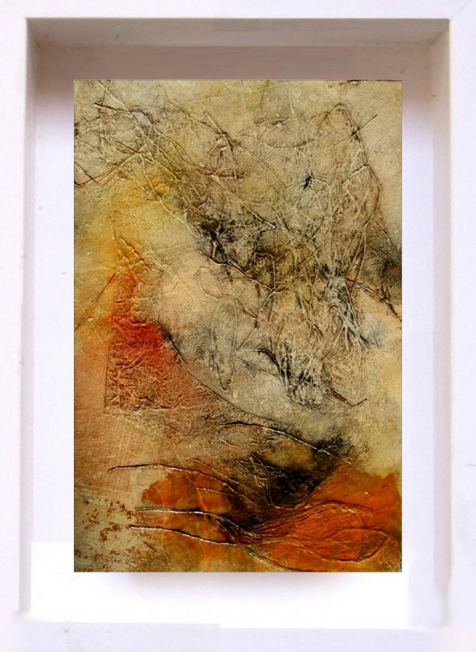 2007 Samouraï PF16 Technique mixte sur papier  (14x21cm)Prix 215€