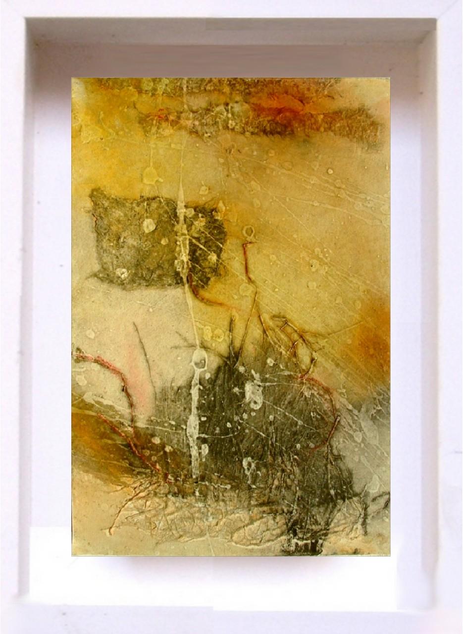 2007 Samouraï PF10 Technique mixte sur papier  (14x21cm)Prix 215€