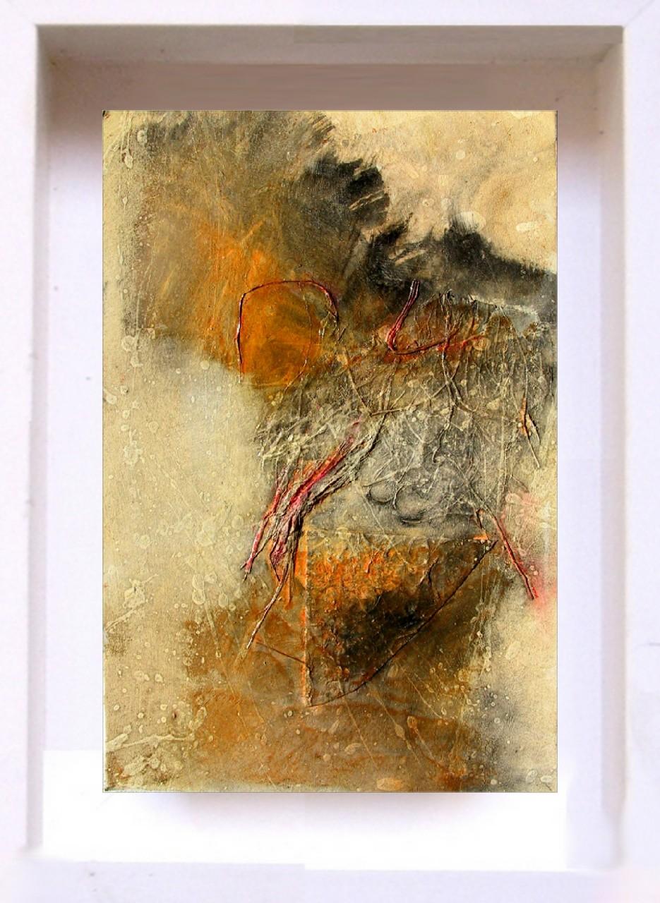 2007 Samouraï PF6 Technique mixte sur papier  (14x21cm)Prix 215€
