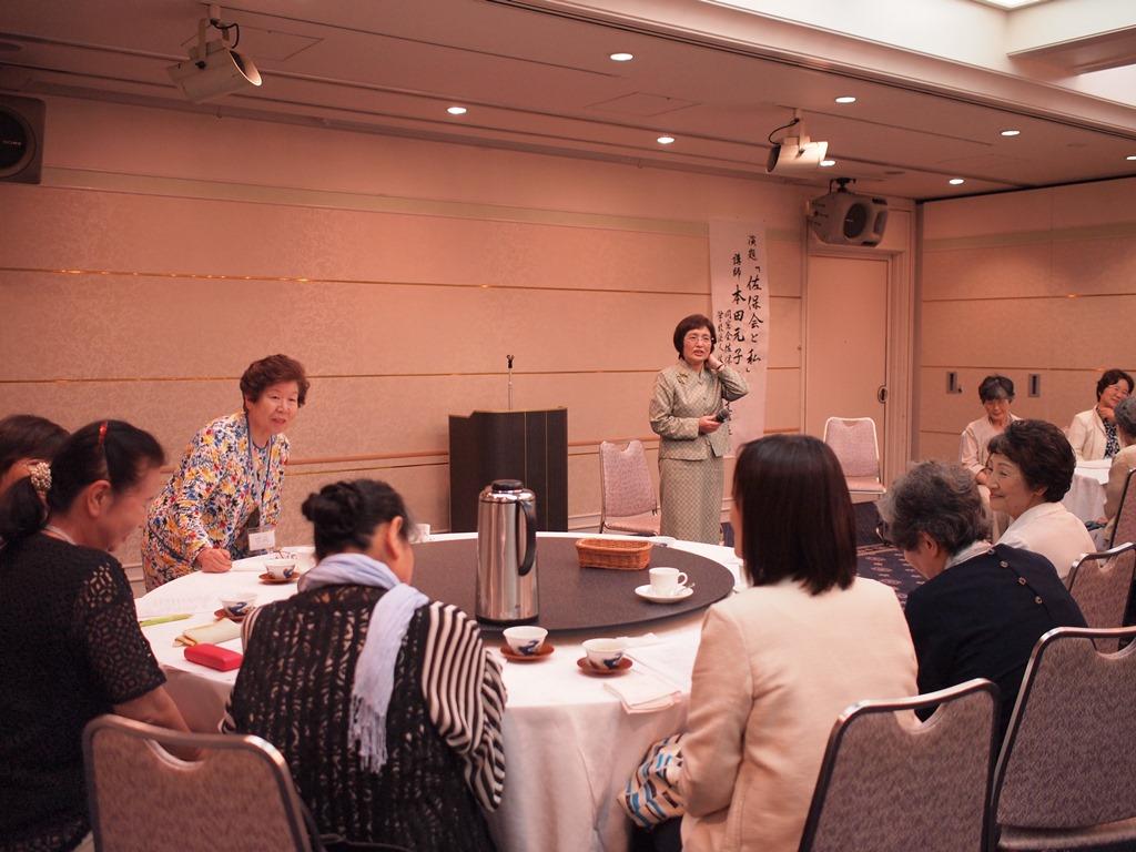 「バリバリの大阪支部長」と思っていたら、朗らかで優しい方でした。