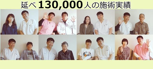 鍼灸院【鶴】の施術延数