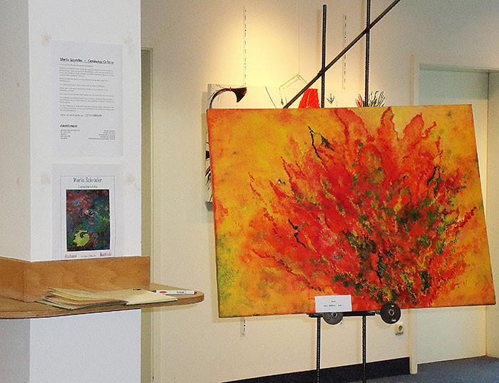 Feuer,   Marlis Schröder,   60/80cm,     580€