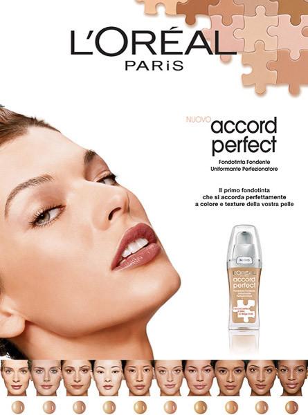 L'OREAL PARIS - ACCORD PERFECT - MILLA JOVOVICH