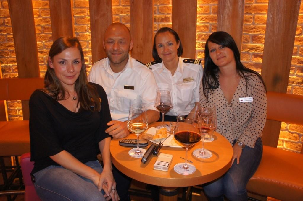 Anja, Davud, Elke, Sandra