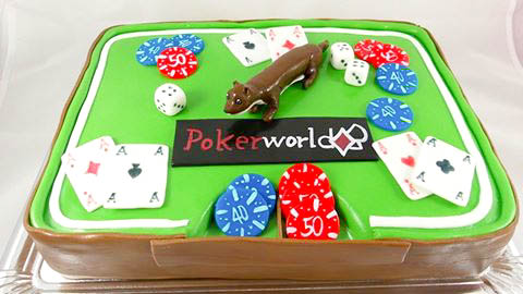Torte Poker World @ Renates Torten Design Vorarlberg