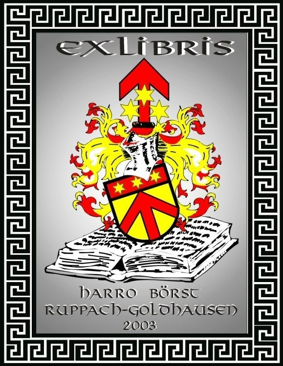 Exlibris Harro Börst