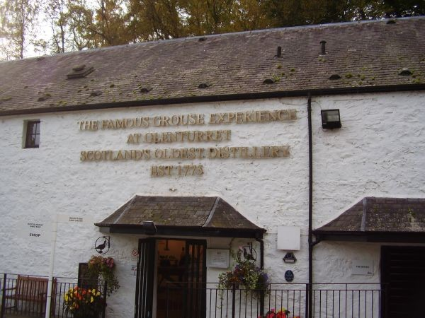 älteste Whisky-Destillery in Schottland