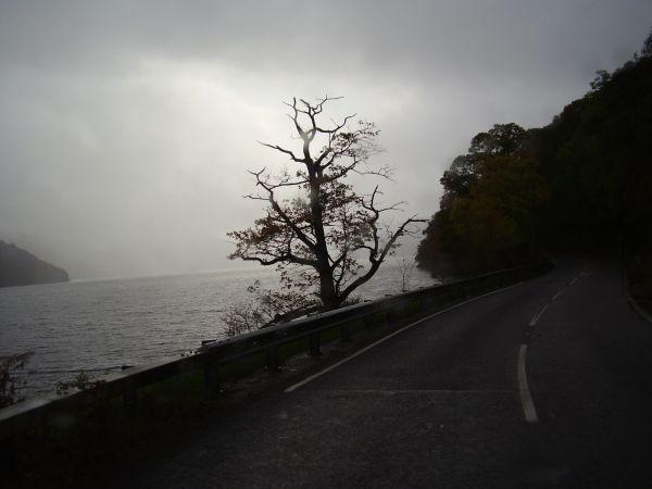Loch Ness kann auch düster sein