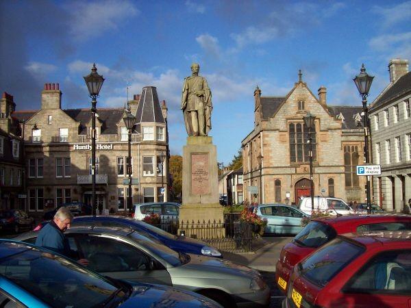 Marktplatz von Huntly