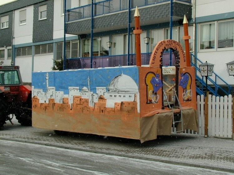 Wagen Morgenland