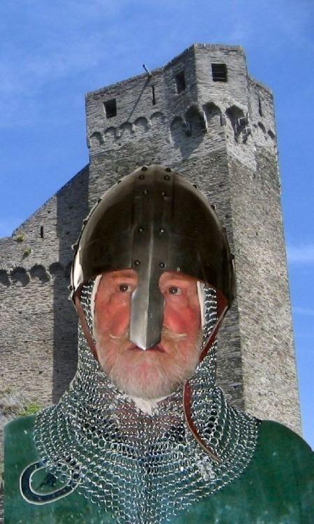 Alter Recke vor Burg Hohenstein