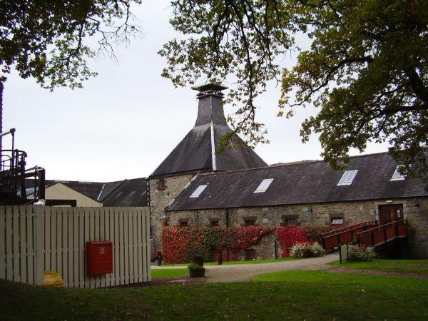 Brennerei Dewar's in Aberfeldy