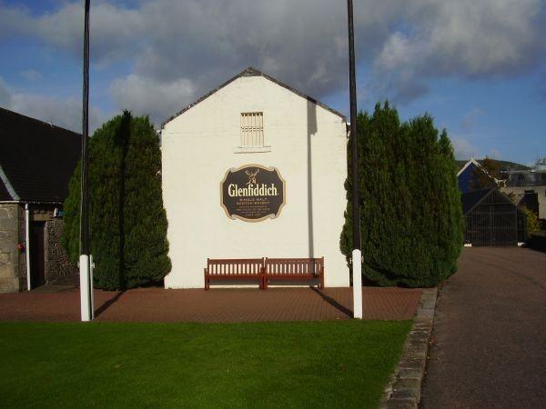 die größte Brennerei in Schottland