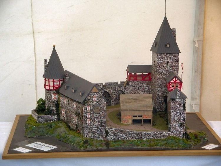 Modell der Burg Freienfels