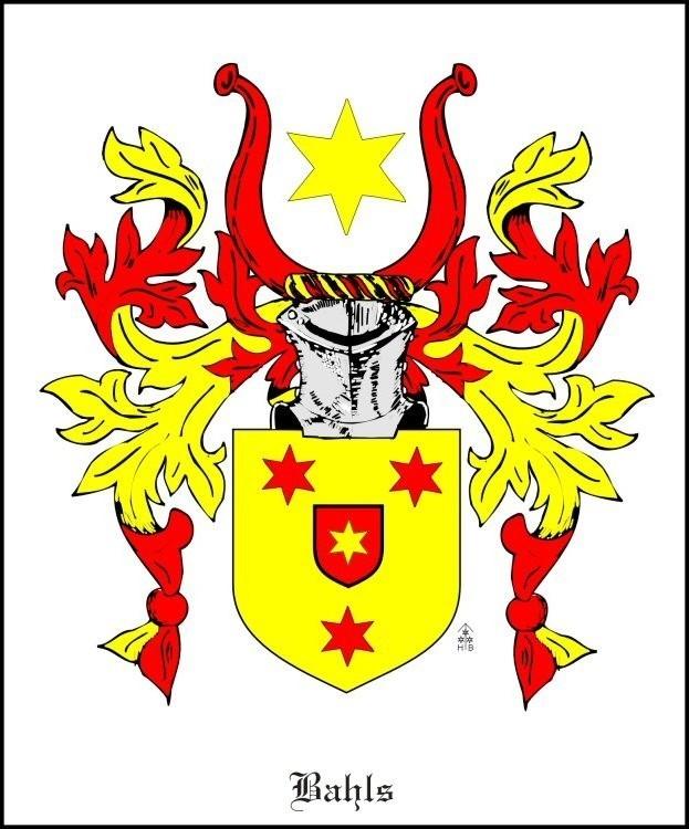 Wappen Bahl