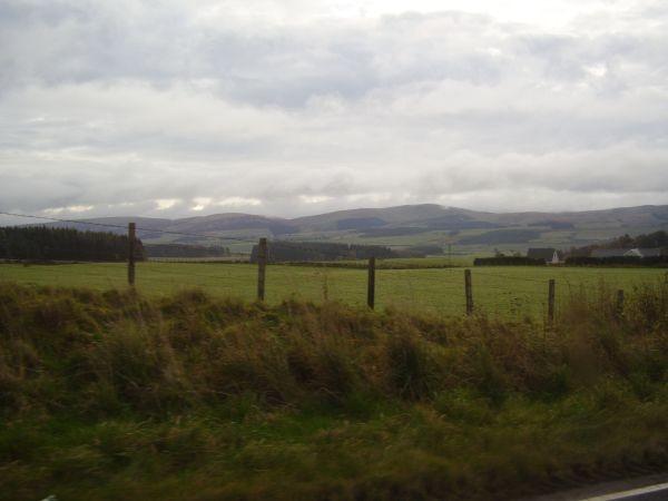 Wir nähern uns den Highlands